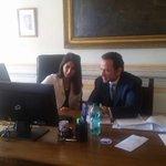 Al lavoro con lassessore al Bilancio @MarcelloMinenna sulle partecipate. Riorganizzazione,risparmi e nuovi servizi. https://t.co/WNumWA0lND