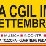 Siete tutti invitati a Festa Cgil #Imola da 1 a 5 settembre: musica incontri buona cucina! Inaugura @SusannaCamusso https://t.co/JDUVDkS3tu
