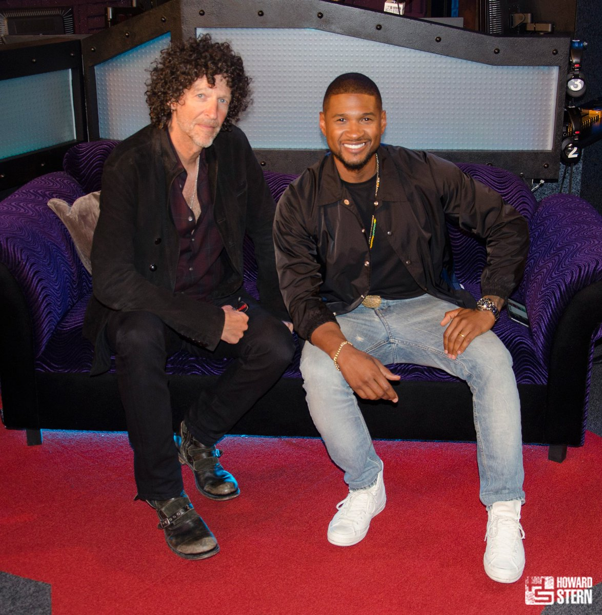 Yeah! @usher ft. howard stern - scoopnest.com
