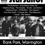 Line up for Warrington Festival Bank Park gig - 17 September just announced  tickets -  https://t.co/vQjRBAwcZc https://t.co/FnxhrG0JQC