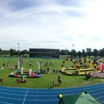 Plenty of activities for families in #Warrington today at Victoria Park.   #GetCheshireActive https://t.co/pZ8vGhzkC3