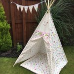 Ready to #play? Kids can have #fun with this lovely #teepee 💕 #tent #outdoor #adventure #childsplay #kazykrafts https://t.co/rcIY42ZT6Q
