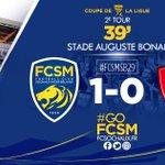 39 Le BUUTTTT de @Honorat_Franck à l'affût sur un corner mal renvoyé par la défense brestoise ! #FCSMSB29 (1-0) https://t.co/pAVfIJareZ