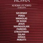 #RomaPorto: ecco la formazione scelta da #Spalletti Segui su https://t.co/8zd6vjjazD le statistiche del match #UCL https://t.co/sCl5dG6MGj
