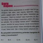 Adana dili ve edebiyatına giriş, dil bilgisi ilk sorusu https://t.co/UY4mRGeVTN