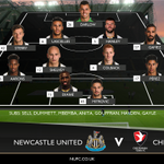 TEAM NEWS: Here is how Newcastle United will line up against @CTFCofficial in the #EFLCup tonight (7:45pm BST). https://t.co/AacNTPyQPL