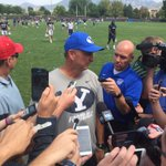 BYU names a starter. Its Taysom Hill. Ty Detmer just told the media. https://t.co/SInTcVFORc