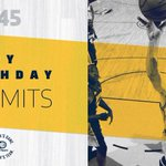 Join us in wishing happy 50th birthday to The Dunkin Dutchman! 🎉  Happy birthday, Rik Smits! https://t.co/m4QZoLqOCU