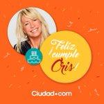 ¡FELIZ CUMPLEAÑOS CRIS! Es el cumple de la actriz y productora argentina Cris Morena. ¡Felicidades @soycrismorena! https://t.co/he8XLaaZwd