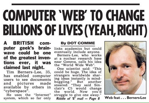 Happy #Internaut Day: 25 years ago today the #worldwideweb opened to the public. https://t.co/nzf07FP7LX