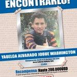 #AyúdanosAEncontrarlo, Josue Washington Yaselga Alvarado se extravió en #Quito. Recompensa 200.000 dólares. https://t.co/KRvCL0TKCK