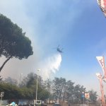 L@Esercito, in sinergia con la #protezionecivile, contro gli #incendi a #Roma #PinetaSacchetti #noicisiamosempre https://t.co/cvd1ARP5Kl