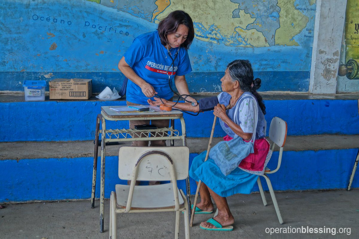 One of the greatest things we can do for another human being is care for them. #BeABlessing #ElSalvador https://t.co/A4qT9IoEOy
