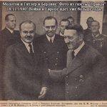23 августа 1939 года был подписан пакт Молотова-Риббентропа о разделе Европы между союзниками - СССР и Германией. https://t.co/Uon4vnvvBV