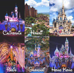Life Goals To Travel To All Of The Disney Parks Around