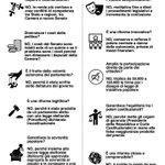 Ultima chance #IoVotoNO alla #RiformaCostituzionale ché se dovesse passare sarà dittatura! https://t.co/0zytSO37Qd
