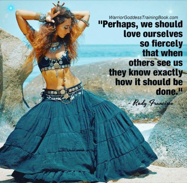 Yeah! Love yourself fiercely!