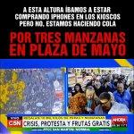"""Plaza de Mayo #BuenMartes Lo más cerca de un """"Apple Store"""" que vamos a estar..@leobodhi @jorhurt @CirceF_ @VARIMAK https://t.co/72k6nqsBFO"""