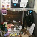 Harambe memorial at ASU. #TFM https://t.co/uyvlUrv0k4