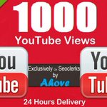 Get 1000+ #YouTube #Video Views Within 24 Hours for $1 https://t.co/4OaEISSs5j #smmarketing #SMM https://t.co/ml0loM916R