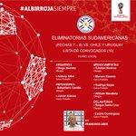 ⚪🔴 #Albirroja Lista de convocados del plano local (10) para los juegos por #Eliminatorias vs. Chile y Uruguay 💪🏼🇵🇾 https://t.co/eJdFOT188k