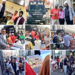 Images of todays #seva in #London serving the #homeless and those in need #food and #drinks on a hot summers day. https://t.co/JMbajdY42s