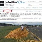 Para los K y con amor. #Frutazo @CFKArgentina Naranjas y manzanas regaladas mientras fuiste Presidente. Muaaa! https://t.co/17BnOaPaTx