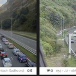 Long queues are LONG. #A55   Latest here: https://t.co/fTS7k1rlkT https://t.co/P2DWYYOWXH