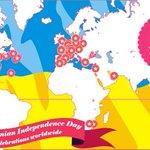 Interactive map of celebrations of Ukraine's 25th Independence Anniversaryworldwide https://t.co/al9Nc6jdmg https://t.co/jaDwCFu4XI