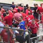 Fan with @RangersFC shirt among #HapoelBeerSheva fans v @celticfc https://t.co/0wdisgWxpg
