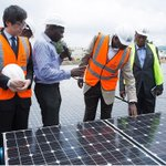 Earlier today, Hon Minster @tundefashola commissioned the 1.2MW Solar Power Plant in Lower Usama, Bwari. Abuja https://t.co/z3V9Z8hZYk