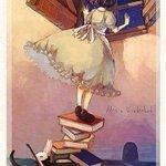 """""""Alice:""""Quanto tempo è per sempre?"""". Bianconiglio: """"A volte solo un secondo"""""""" L. Carroll #LibriDaMedaglia https://t.co/GXZPel6kbq"""