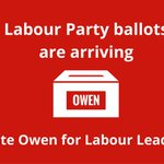 Ballots are now arriving for the #LabourLeadership election. Vote Owen for a stronger, more united Labour Party. https://t.co/VRhV4d4wht