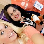 Making friends at @DigSumPhilly 👍🏼😁😁 @purnavirji take care of our cute little fox!! #DSPhilly16 https://t.co/rOIPflEg4j