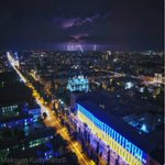 Flag Day and the day of lightning #kyiv #ukraine #lighting #dronephoto @Zoreslav4yk |EMPR https://t.co/bPaHoMDNxT