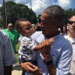 nephew & the pres. 💕 https://t.co/2wU5glQ5S1