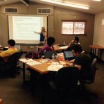Rocking our first in-house coursework training!  #YumaReady @YUHSD #Curriculum https://t.co/pROlFBtEC4