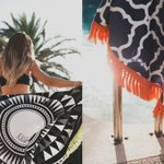 FOLLOW @Solillas & RT to #WIN one of their round beach towels! // Two winners will be picked 30th August #giveaway https://t.co/MzFjBVByOL