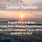 Senior Sunrise 🌅 https://t.co/WB8BYkXVOF
