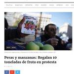 Las portadas del mundo hablan del #Frutazo en Buenos Aires. Se hizo eco Estados Unidos, Brasil, Venezuela, Paraguay https://t.co/uQwoMteL0H