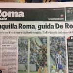 Tranquilla Roma, garantisce la gazzetta #RomaPorto https://t.co/RFfk6wSZQV