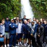 #UCDavisMBB enjoying La Paz Waterfall in Costa Rica - Day 4 of 2016 Foreign Tour . #AggieStrong https://t.co/P0PifKR64g