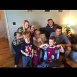 Massive thanks to @TommyElph4 and Ross for making a very special day for my cousins 💙 #avfc https://t.co/hHkivlwX9t