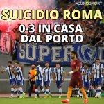 La #Roma si butta via (e chiude in 9!): contro il Porto finisce 0-3! Niente #ChampionsLeague... #RomaPorto https://t.co/uORZx20pSM