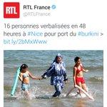 Quand certains évoluent dans le respect et lintelligence dautres senfoncent dans la médiocrité  #burkini #voile https://t.co/X4yNZzc6A6