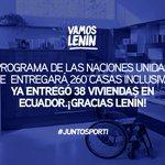@Lenin desde tan lejos se siente tan cerca, porque se involucra con las necesidades de nuestro país ¡#VamosLenin! https://t.co/aAQTXPLcDR