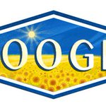 I can walk past all the celebrations, but I cant ignore the festive doodle from Google. Happy birthday, #Ukraine! https://t.co/jlIVBXjsZg