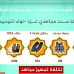 Call for donations from 1 of Gazas Jihadist orgs- for 60$ theyll aquire 4 more hand grenades!  Via @arabistmideast https://t.co/fgdqzpJCE0