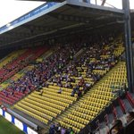 Gillingham fans at Watford tonight #Gills #FootyAwayDays https://t.co/6HJ1IeqHAE
