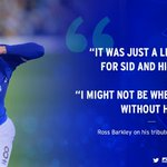 Stand-in skipper @RBarkley20 on his tribute to Sid Benson: https://t.co/UL1WyrWgoS https://t.co/EiBV6lv9NQ